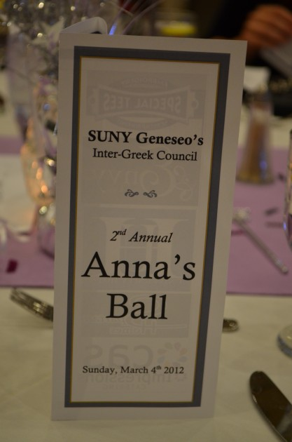 Anna's Ball 2012